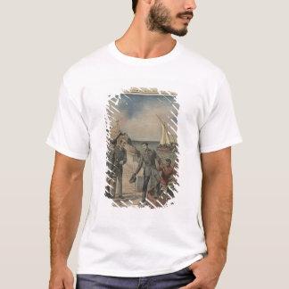 T-shirt Le Roi Manuel II du Portugal offrant l'adieu