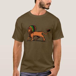 T-shirt Le Roi Rasta Lion de Jah