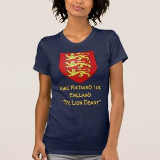 """T-shirt Le Roi Richard I de l'Angleterre """"le Lionheart """""""
