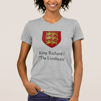 "T-shirt Le Roi Richard I "" le Lionheart """