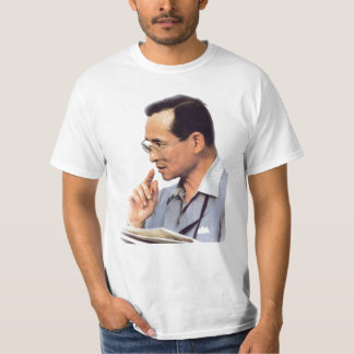 T-shirt Le Roi thaïlandais Bhumibol Adulyadej -