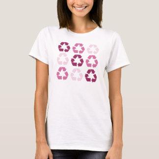T-shirt Le rose réutilisent des symboles
