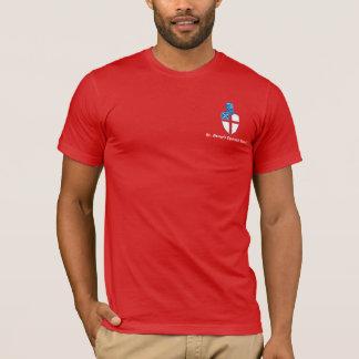 T-shirt Le rouge de base T de St George
