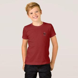 T-shirt Le rouge de canneberge de calcinateur de tribu