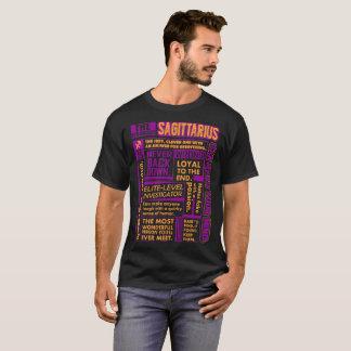T-shirt Le Sagittaire le plus fort loyal peut lire le