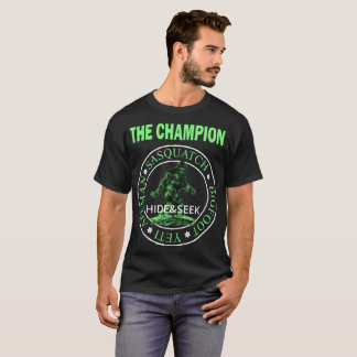 T-shirt Le sasquatch de cache-cache de champion
