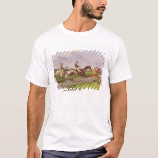 T-shirt Le saut d'eau : la course d'obstacles d'automne