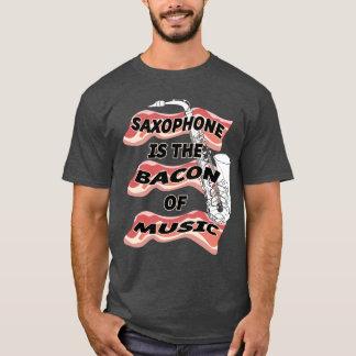 T-shirt Le saxophone est le lard de la musique