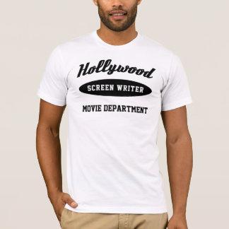 T-shirt Le scénariste de Hollywood