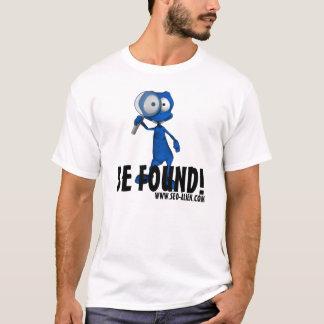 """T-shirt Le SEO-Alien """"SOIT TROUVÉ """""""
