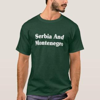 T-shirt Le Serbie-et-Monténégro