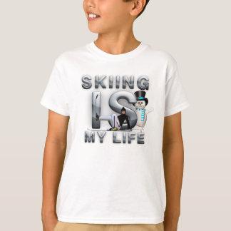 T-shirt Le ski SUPÉRIEUR est ma vie