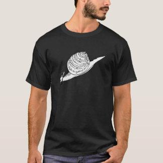 T-shirt Le snail mail d'Edward Lear
