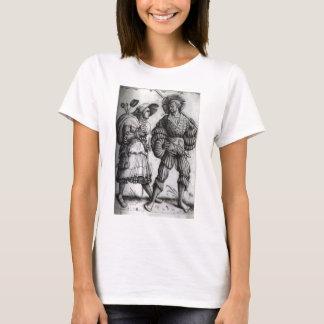 """T-shirt """"Le soldat et son épouse"""" - Landsknecht"""
