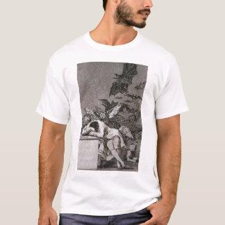 T-shirt Le sommeil de la raison produit des monstres