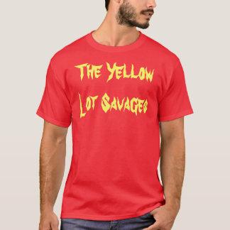 T-shirt Le sort jaune sauve - Caroline douce