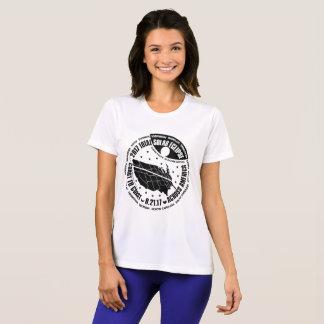 T-shirt Le sport de 2017 d'ÉCLIPSE SOLAIRE femmes TOTALES