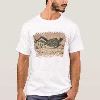 T-shirt Le squelette étendu avec la légende 'savent