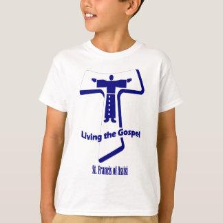 T-shirt Le St Francis de la citation d'Assisi