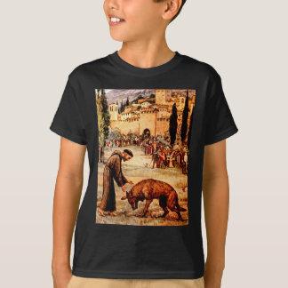 T-shirt Le St Francis et le loup