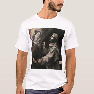 T-shirt Le St Francis recevant les stigmates