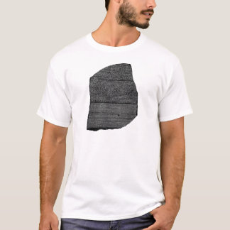 T-shirt Le Stele égyptien de granodiorite de pierre de