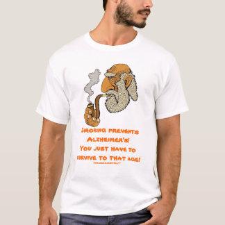 T-shirt Le tabagisme empêche la conception drôle du