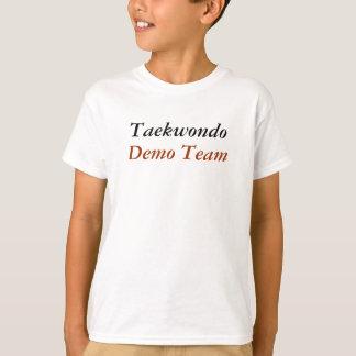 T-shirt Le Taekwondo, équipe de démo