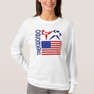 T-shirt Le Taekwondo Etats-Unis