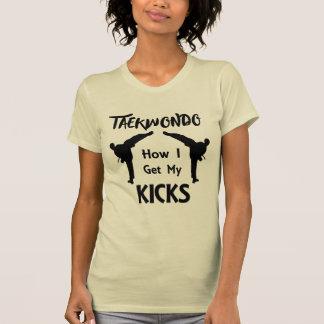 T-shirt Le Taekwondo évente des arts martiaux comment