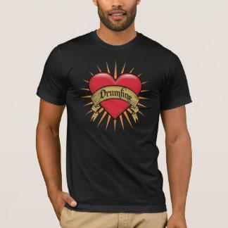 T-shirt Le tatouage entendent Drumline