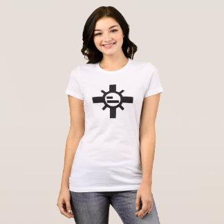T-shirt Le tee - shirt blanc des femmes de Sparko Sun