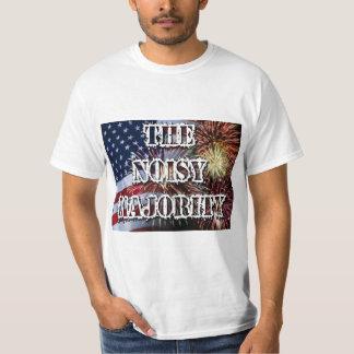 T-shirt Le tee - shirt bruyant de majorité