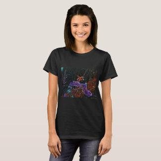 T-shirt Le tee - shirt de la femme de concepteur dans le