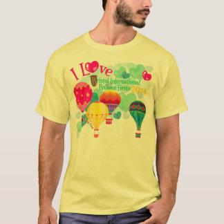 T-shirt Le tee - shirt de l'homme de fiesta de ballon de
