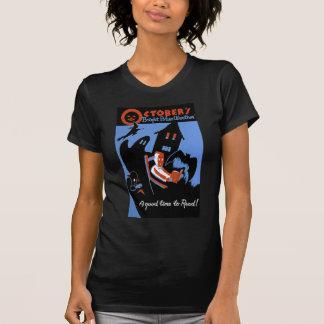 T-shirt Le temps bleu lumineux d'octobre