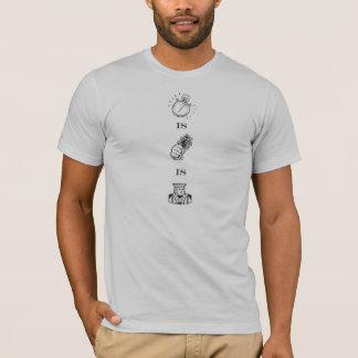T-shirt Le temps, c'est de l'argent l'ARGENT LIQUIDE est