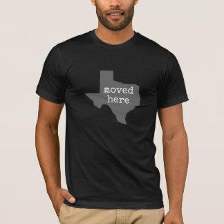 T-shirt Le Texas : déplacé ici