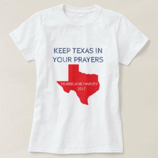 T-shirt Le Texas - ouragan Harvey