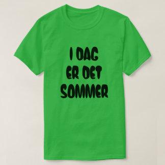 T-shirt Le texte norvégien est aujourd'hui été dans le