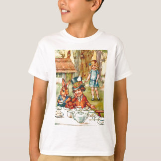 T-shirt Le thé du chapelier fou - Alice au pays des