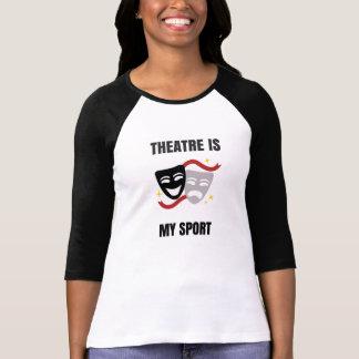 T-shirt Le théâtre est ma chemise de sport - geek de drame