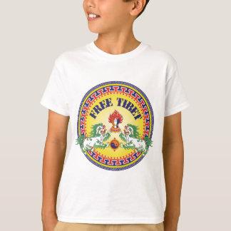 T-shirt Le Thibet libre rond
