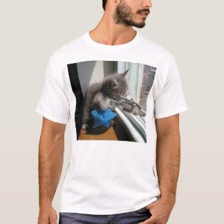 T-shirt Le tireur isolé de chat