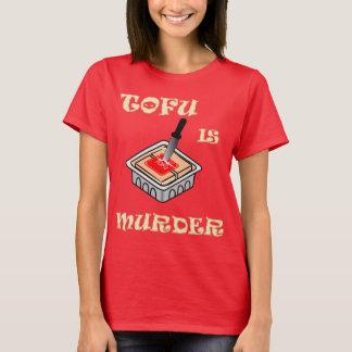 T-shirt Le tofu est meurtre