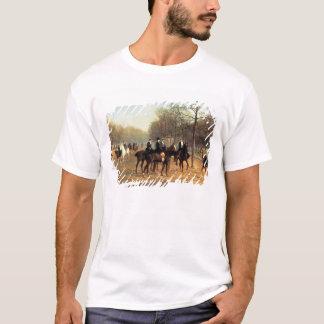 T-shirt Le tour de matin, rangée putréfiée, Hyde Park,