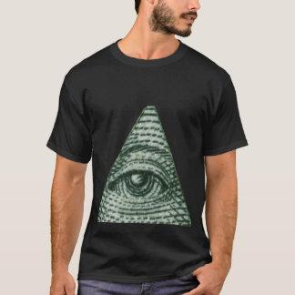 T-shirt Le tout l'oeil voyant