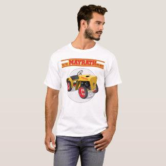 T-shirt Le tracteur de Mayrath met en application le tee -