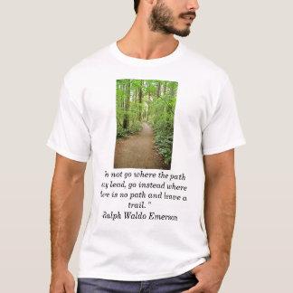 """T-shirt le trai de forêt, """"ne disparaissent pas où le"""