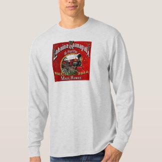 T-shirt Le train de canne à sucre avec des locomotives de